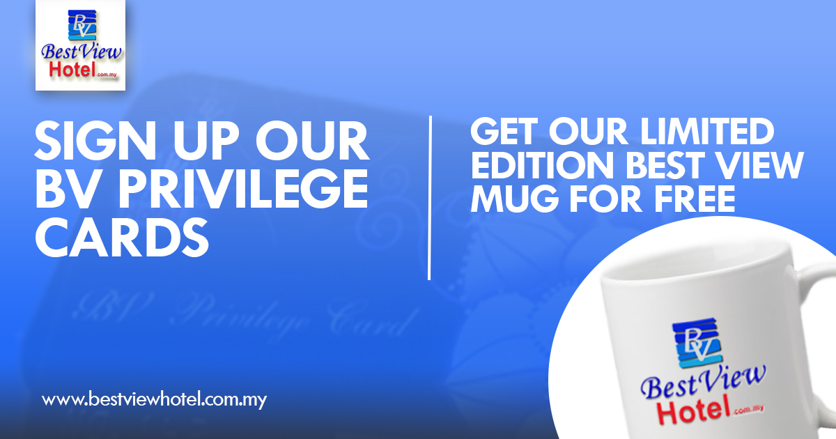 FREE: Limited Edition Best View Mug*