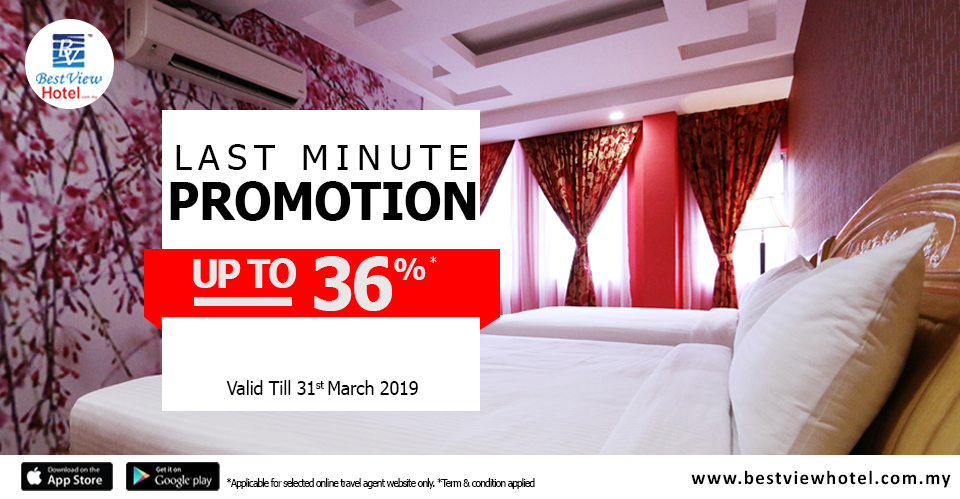 If you're looking for a last-minute hotel promotion, Best View Hotel have some amazing offers!