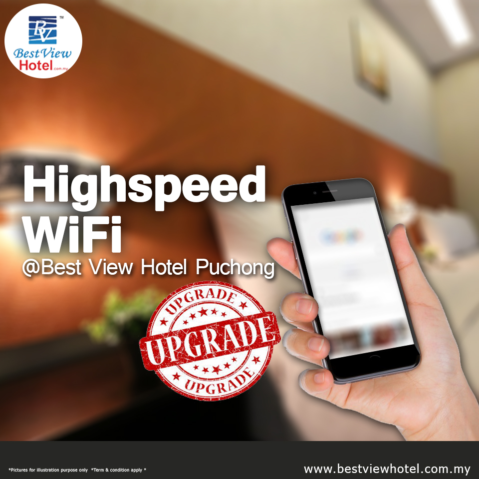 We have upgraded our WiFi facilities for you!