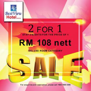 2 FOR 1 PROMOTION : KELANA JAYA OUTLET